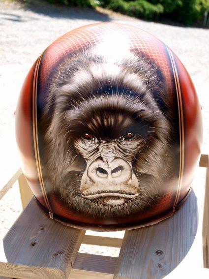 casque-gorille-gorille-orange-paillette-custom-aerographie (6)