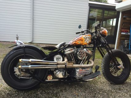 moto-flamming-flammes-dollars-harkey-davidson-custom-aerographie (6)