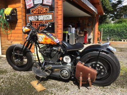 moto-flamming-flammes-dollars-harkey-davidson-custom-aerographie (7)