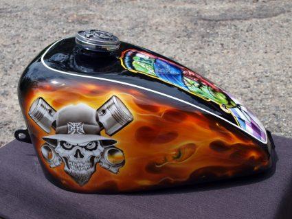 reservoir-flamming-flammes-dollars-harkey-davidson-custom-aerographie (3)