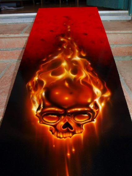 true-fire-flamming-realiste-crane-skull-custom-aerographie (1)